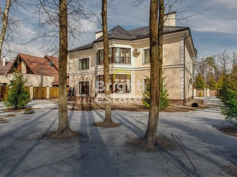 Двухэтажный дом под ключ в КП Лесные Просторы-2. ID 4421