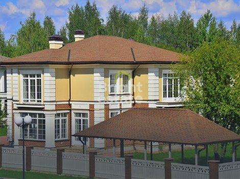 КП Успенка-21 — Продается дом под ключ в поселке на Рублевке. ID 9768