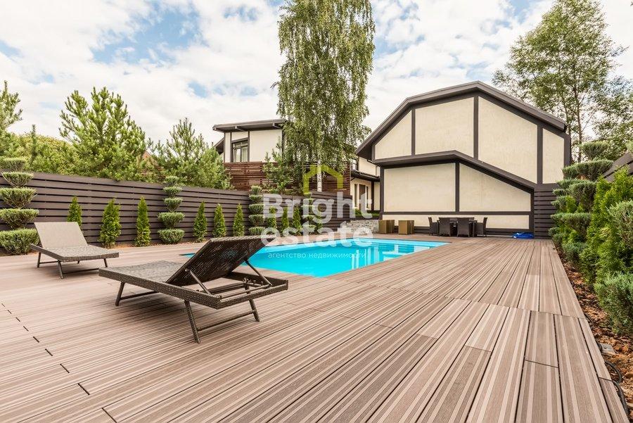 Купить дом 320 кв.м. под ключ в коттеджном поселке Пенаты. ID 10333