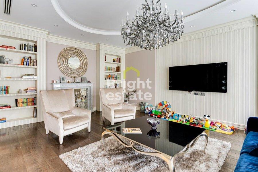 Купить готовую квартиру с дизайнерским ремонтом в ЖК Barkli Virgin House. ID 10574
