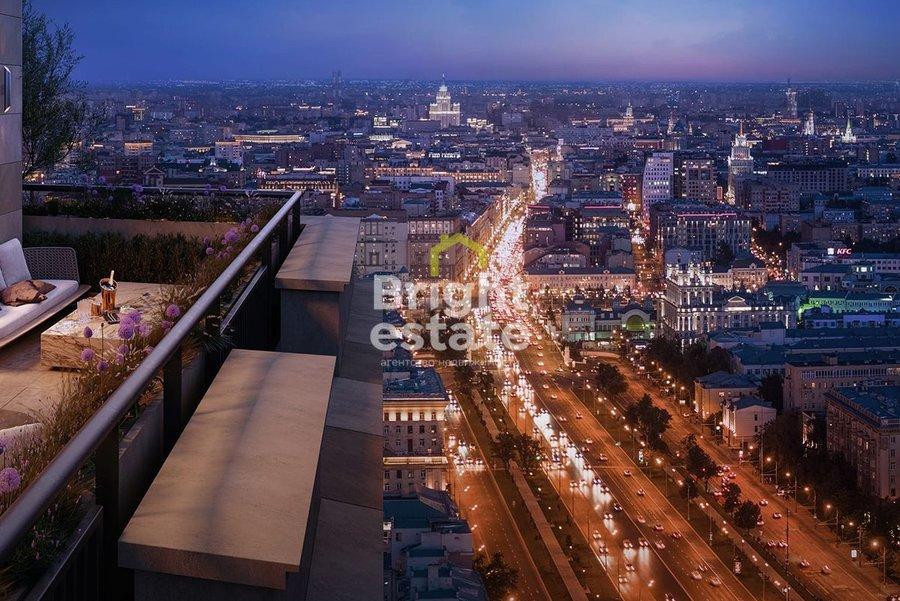 Продажа апартаментов 50,7 кв.м. в городском комплексе Алькон Тауер. ID 12382