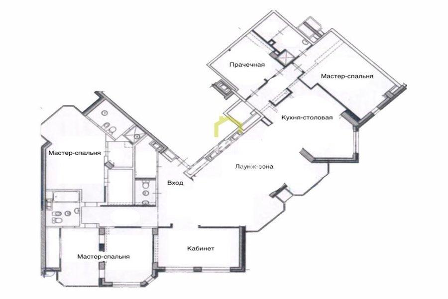 Продажа готовой к проживанию квартиры в ЖК Dominion. ID 12489