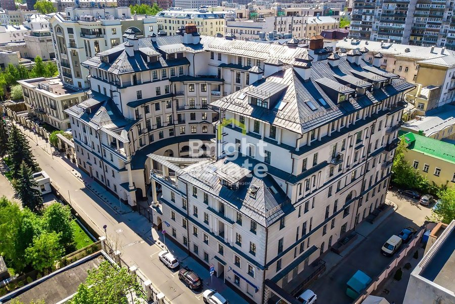 Купить 3-комнатную квартиру с дизайнерской отделкой в ЖК Римский дом на Якиманке. ID 12942
