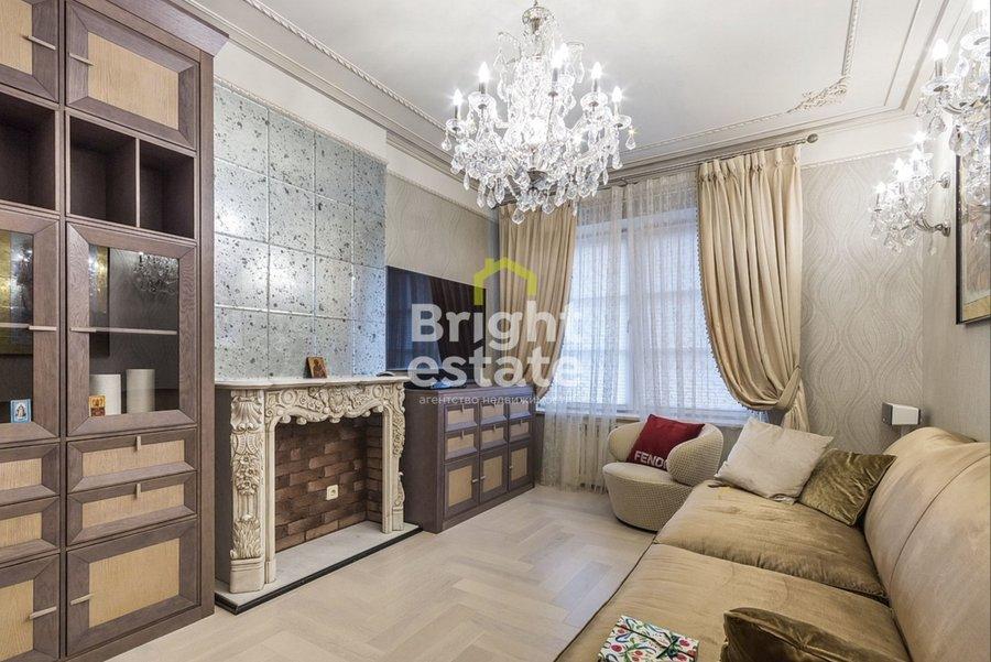 Купить квартиру в классическом стиле в жилом комплексе Английский квартал. ID 13414