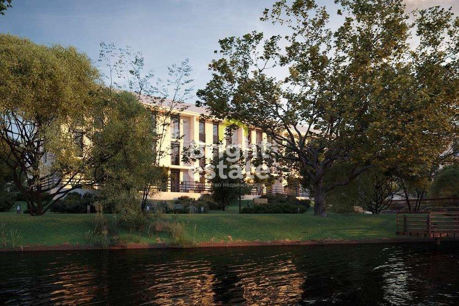 Купить 4-комнатные апартаменты с выходом в сад в ЖК River Residences. ID 13864