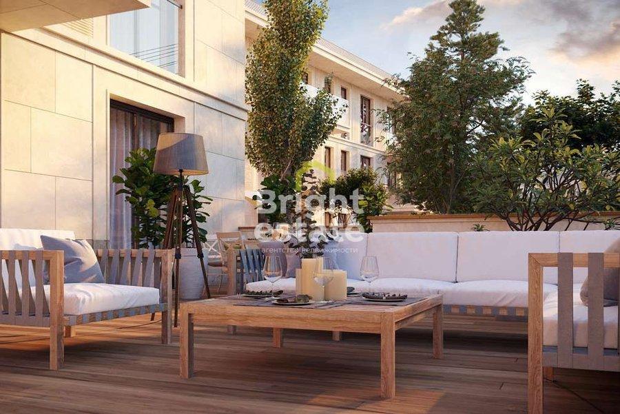 Купить апартаменты без отделки с террасой в жилом комплексе River Residences. ID 13869