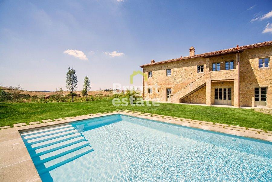Купить виллу I Bianchi в итальянском ЖК Castelfalfi. ID 9827